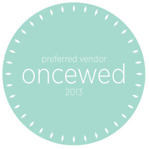 oncewed Preferred Vendor