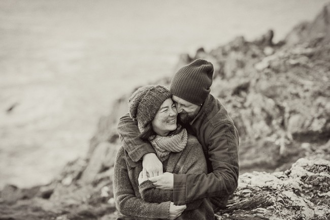 Cornwall Anniversary Together photography by Marianne Taylor