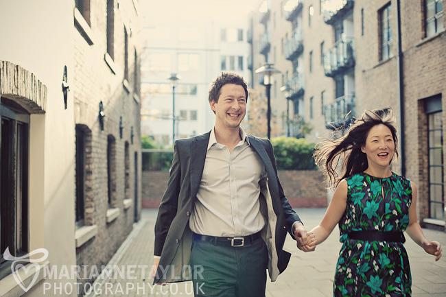 London engagement photography
