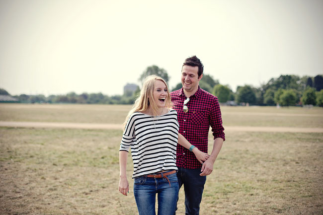 creative London engagement photography