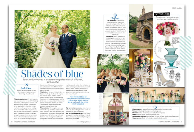 Wedding Flowers magazine November December 2013