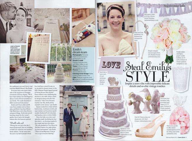 Cosmopolitan Bride Magazine