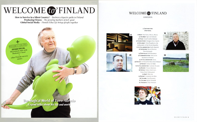 Welcome to Finland magazine