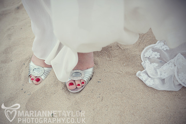 creative Cornwall wedding photography