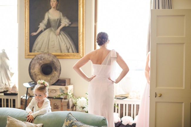 Fine art Aynhoe Park wedding photography by Marianne Taylor. Click through to see more.