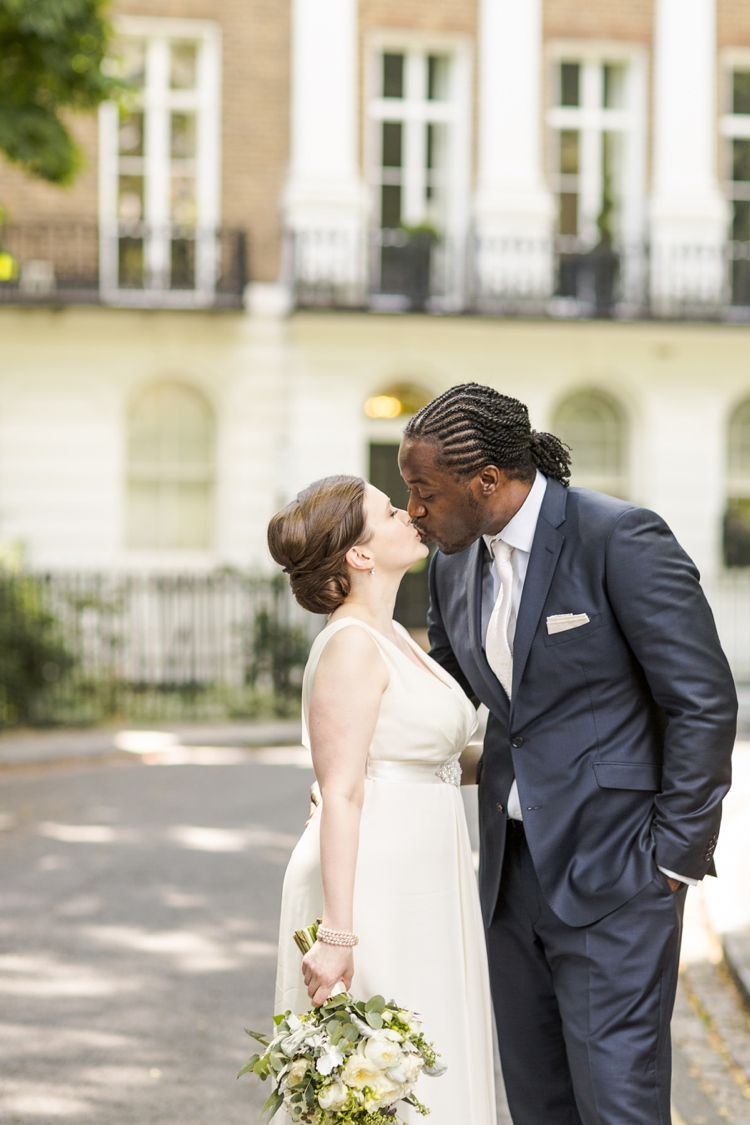 Enchanting elopement wedding in London by Marianne Taylor Photography