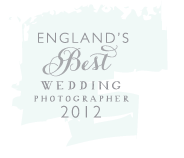 England's Best Wedding Photographer 2012