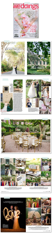 Marianne Taylor Photography featured in Martha Stewart Weddings Turkey, Spring-Summer 2015.