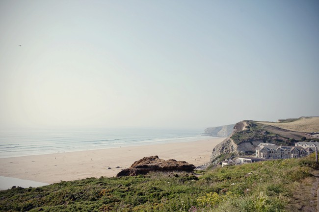The magic of Cornwall: cliff-top weddings by the sea