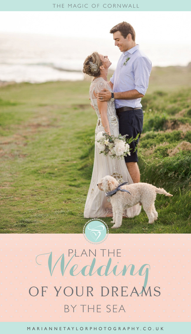 Plan your dream wedding in Cornwall. Click through for our recommendations for venues & vendors!