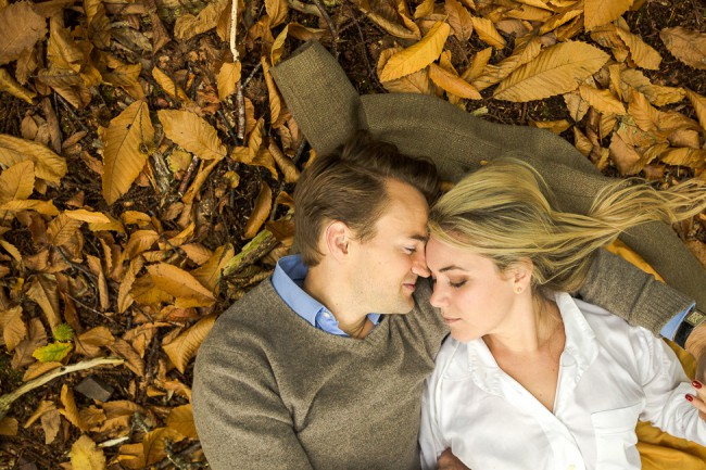 Creative engagement photography in Somerset by Marianne Taylor.