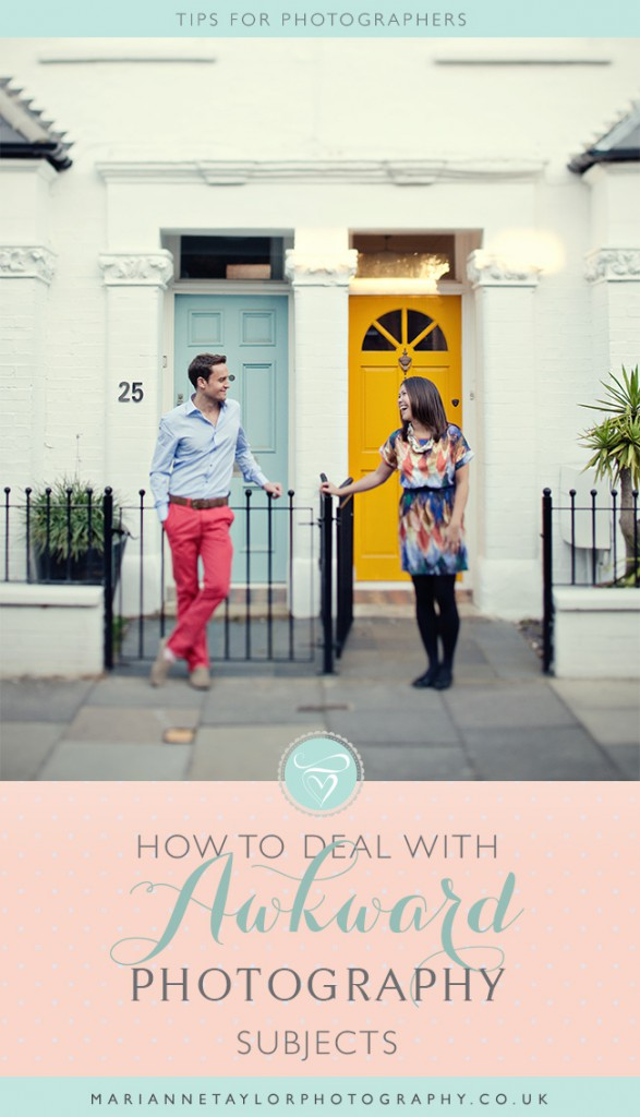 How to deal with awkward photography subjects