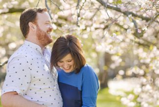 Barbara & Bruce | Blossoming London Engagement Session
