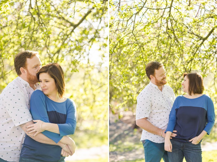 Love Affair with London - Spring blossom London engagement Together shoot by Marianne Taylor. Click through to see more!