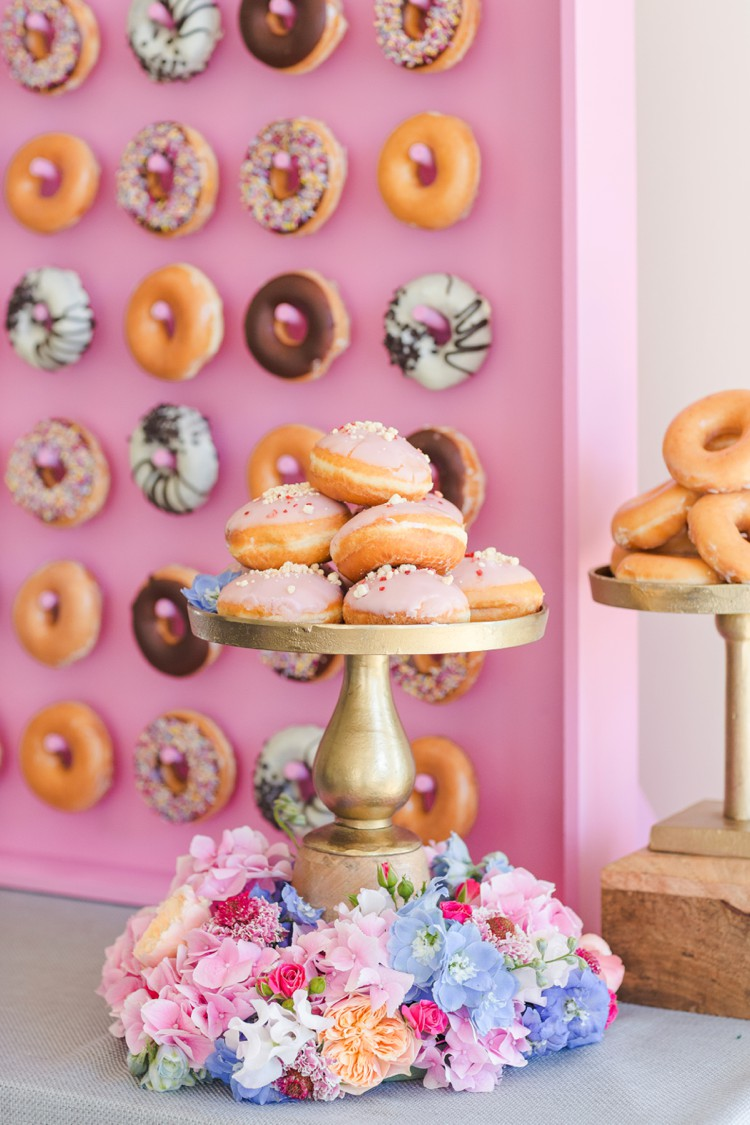 Happy doughnut day! An amazing pink doughnut wall to blow your mind. Click through to see more!