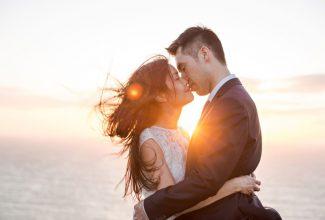 Jeannie & Billy : Coastal pre-wedding session in Cornwall