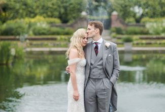 Victoria & Charles : Kensington Palace wedding with old school glamour