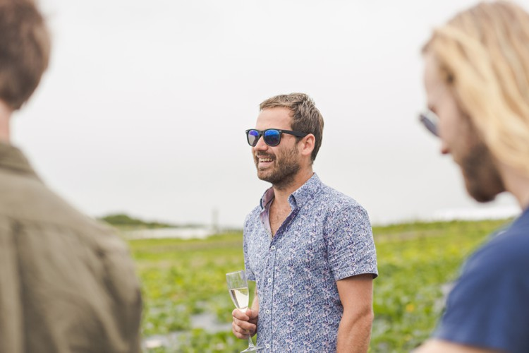 Birthday party photography in Padstow Kitchen Garden. Click through to see more magic of Cornwall!