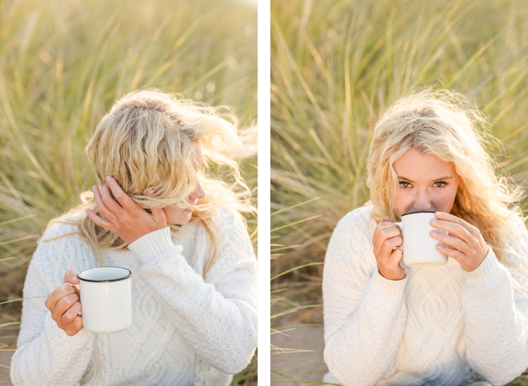 Cornwall lifestyle portrait photography. Click through to see more magic by the ocean!