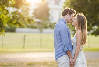 Anne & Archie : A summer evening engagement session