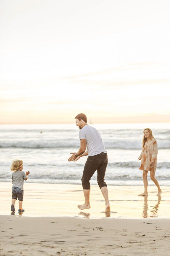 Sunset Family Session on Venice Beach