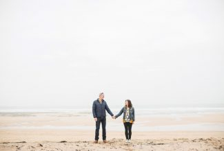 Tara & Simon : A Cornish Together Session on the Beach
