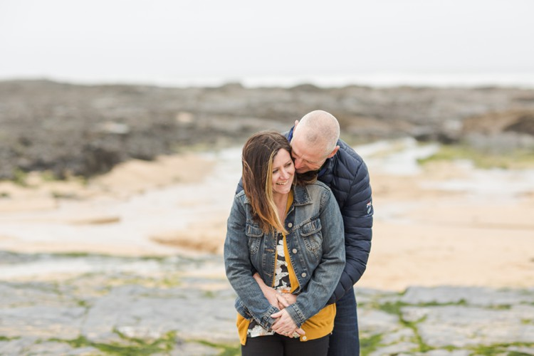 Cornwall engagement photography for couples in love by Marianne Taylor.