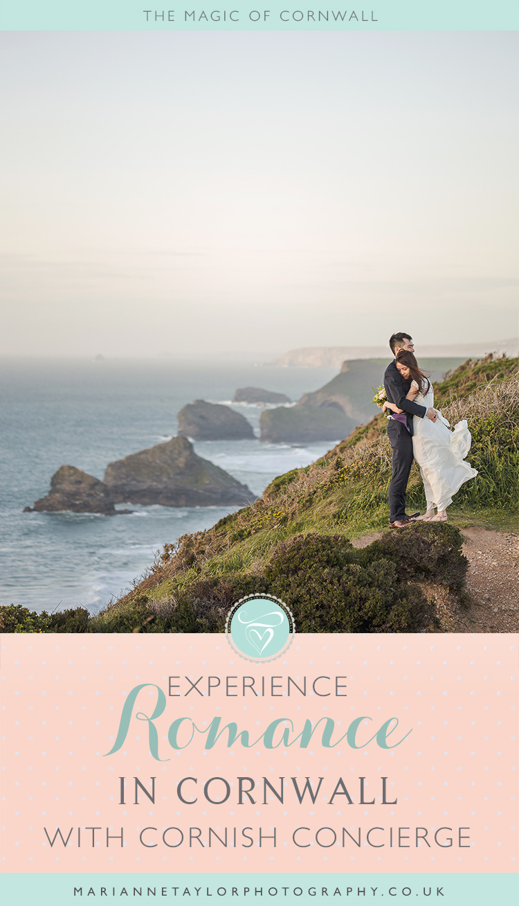 Romance in Cornwall with Cornish Concierge & Marianne Taylor Photography.