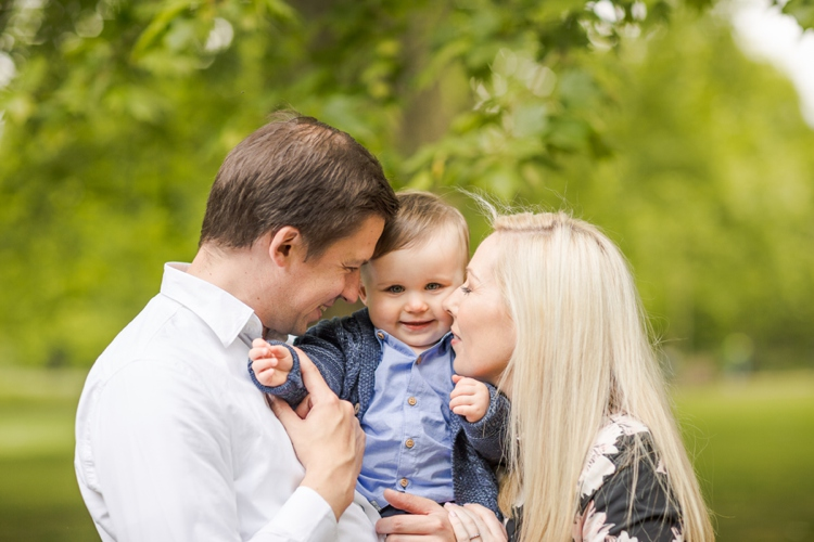 Springtime Family Session in London
