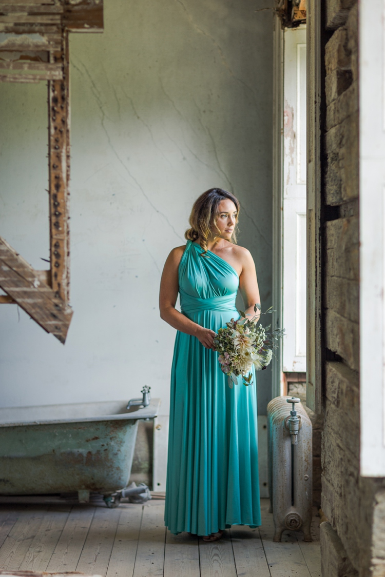 Commercial photography of Lavalia multiway dresses by Marianne Taylor.